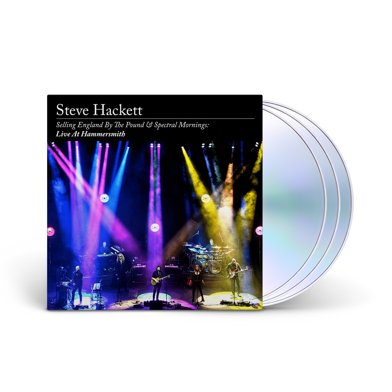 Steve Hackett - Selling England By The Pound & Spectral Mornings: Live At Hammersmith Digipak 2 CD + BluRay + Digital Download