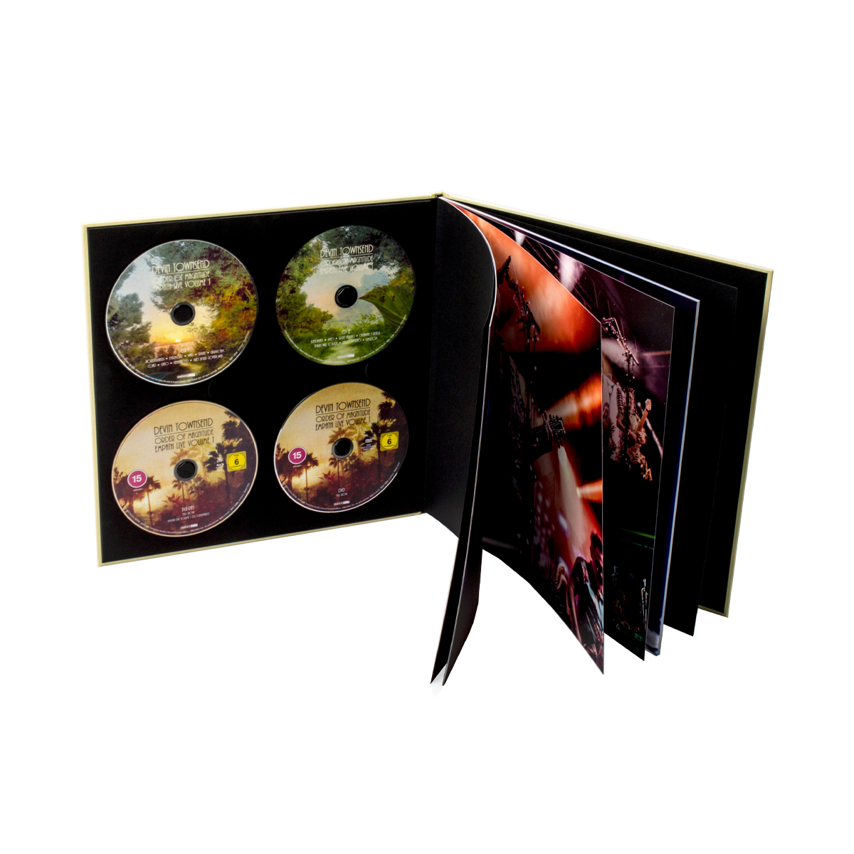 Devin Townsend - Order Of Magnitude - Empath Live Volume 1 Ltd. Deluxe 2 CD & Blu-ray & DVD Artbook