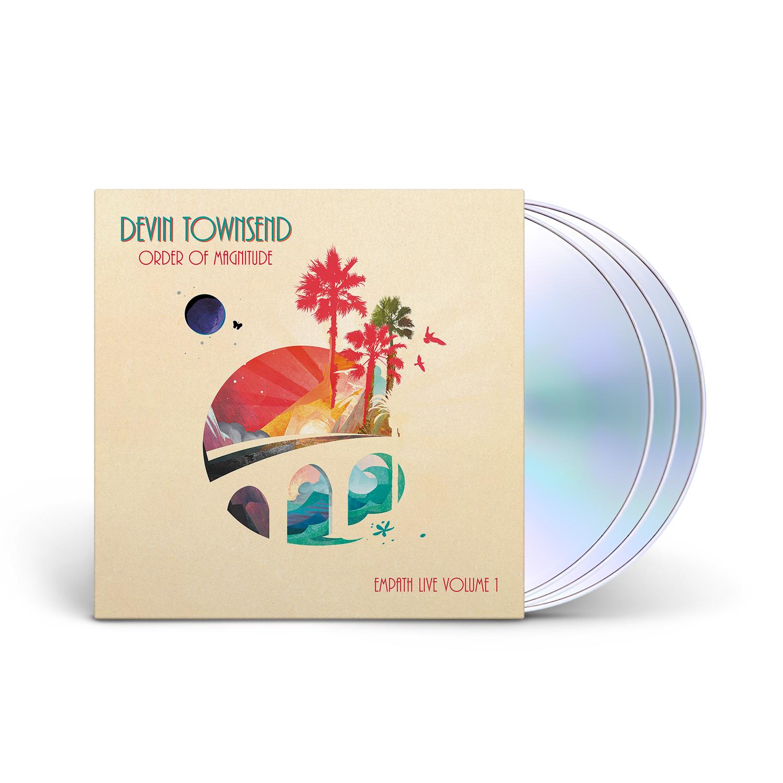 Devin Townsend - Order Of Magnitude - Empath Live Volume 1 Digipak 2 CD + DVD