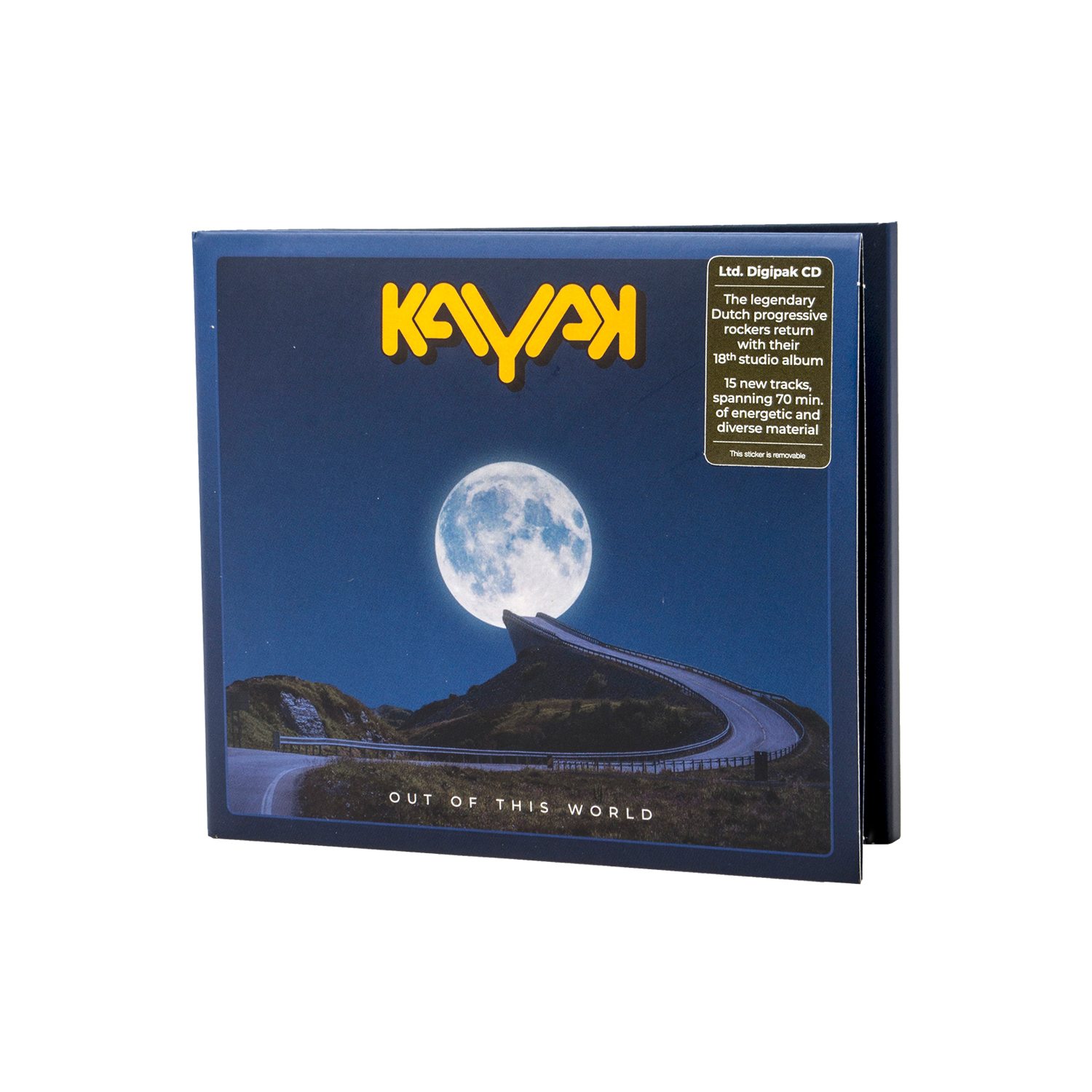 Kayak - Out Of This World Digipak + Digital Download
