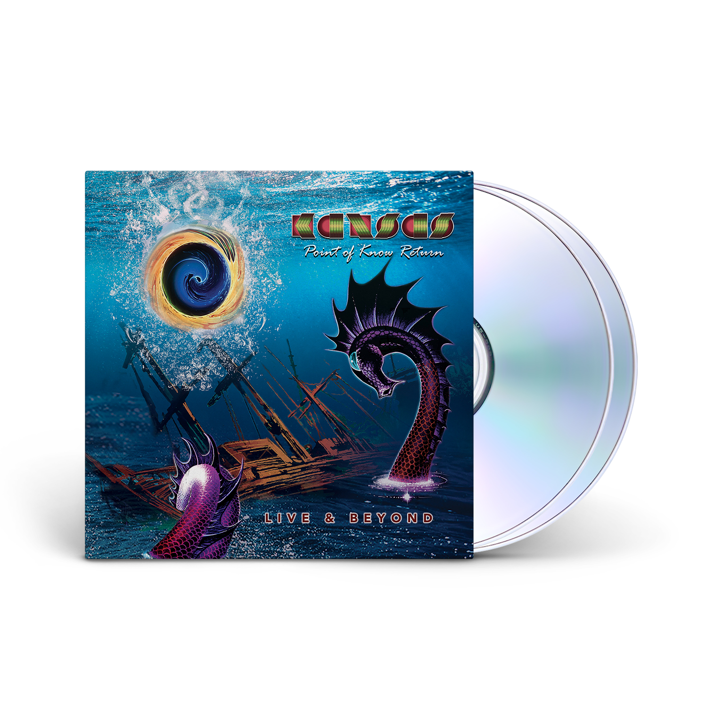 Kansas - Point of Know Return Live & Beyond 2CD Digipack + Digital Download