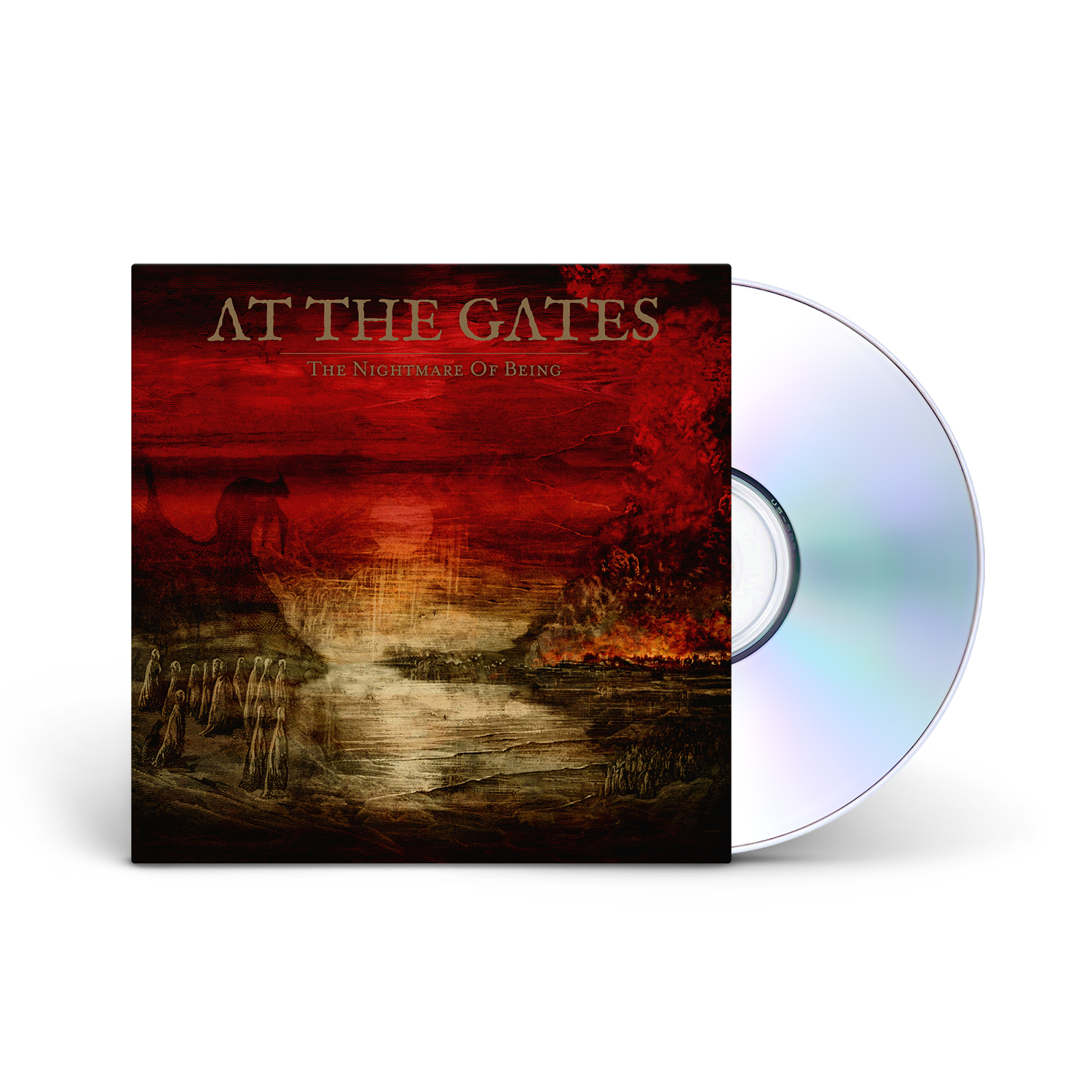 At The Gates - The Nightmare of Being CD Jewelcase + Digital Download
