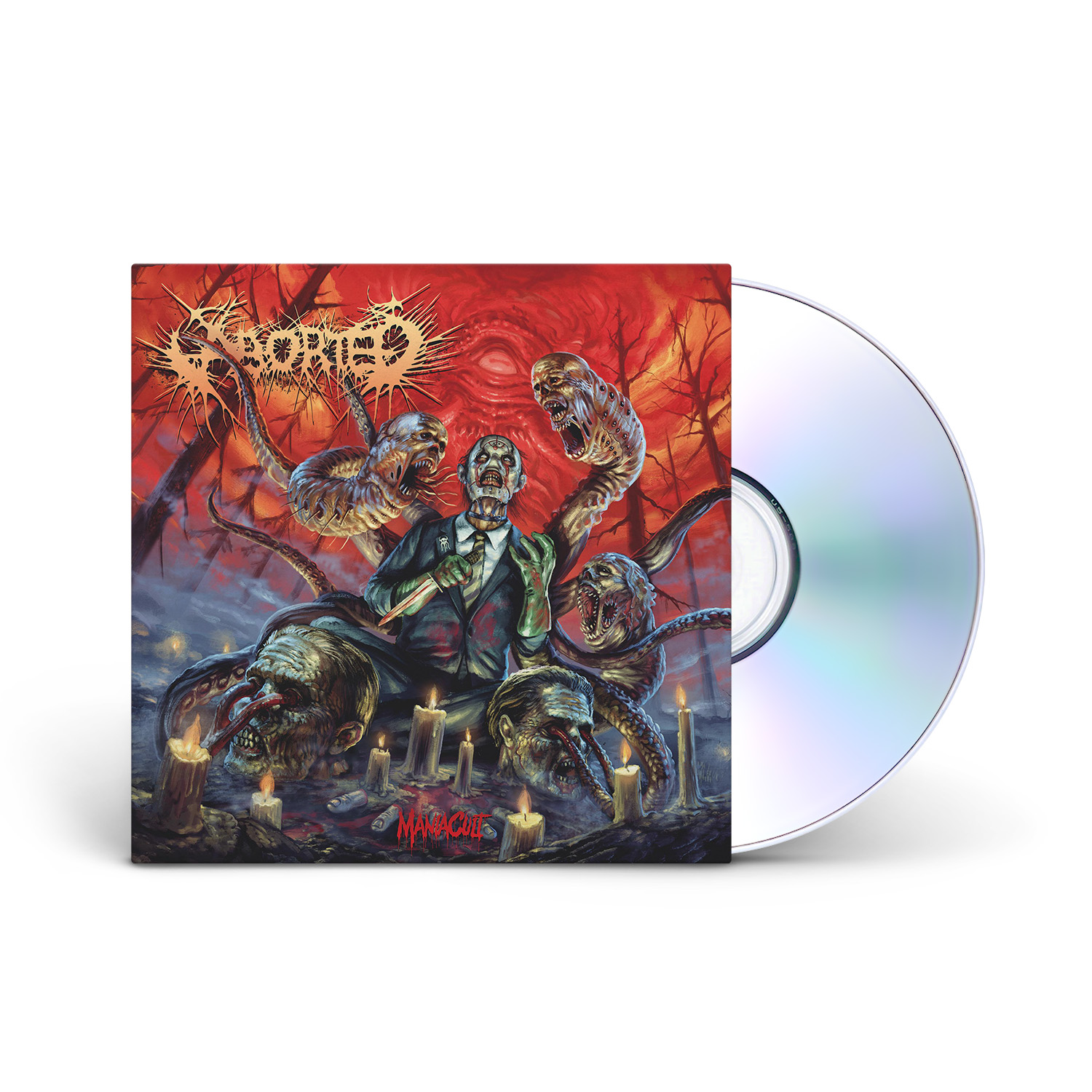 Aborted - Maniacult CD Jewelcase + Digital Download