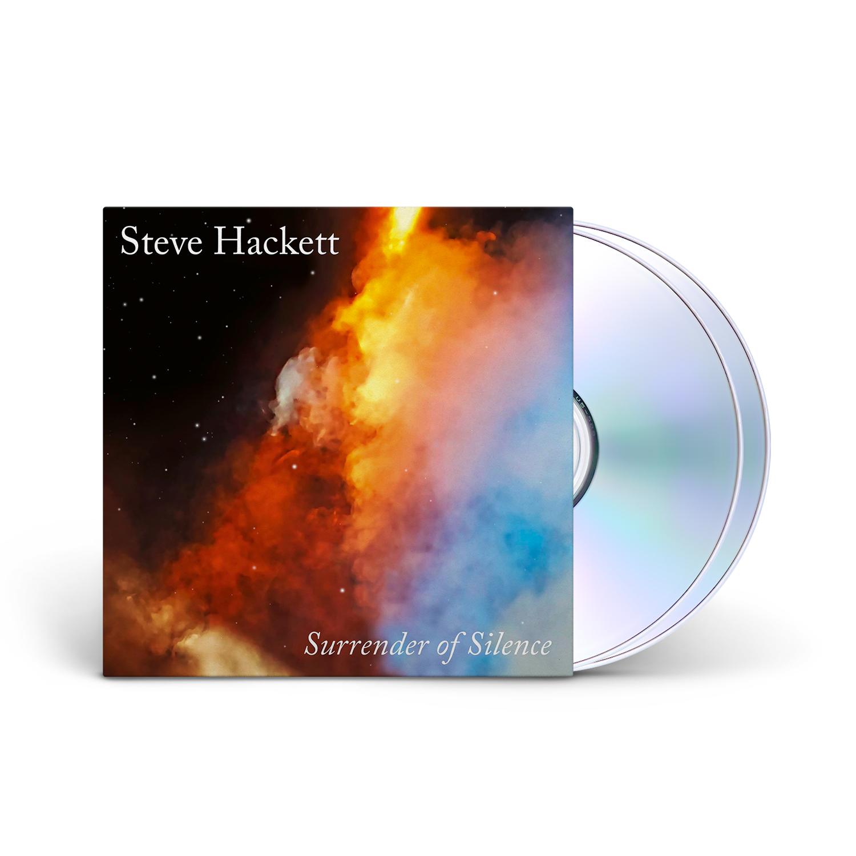 Steven Hackett - Surrender of Silence Mediabook CD + Blu-Ray + Digital Download