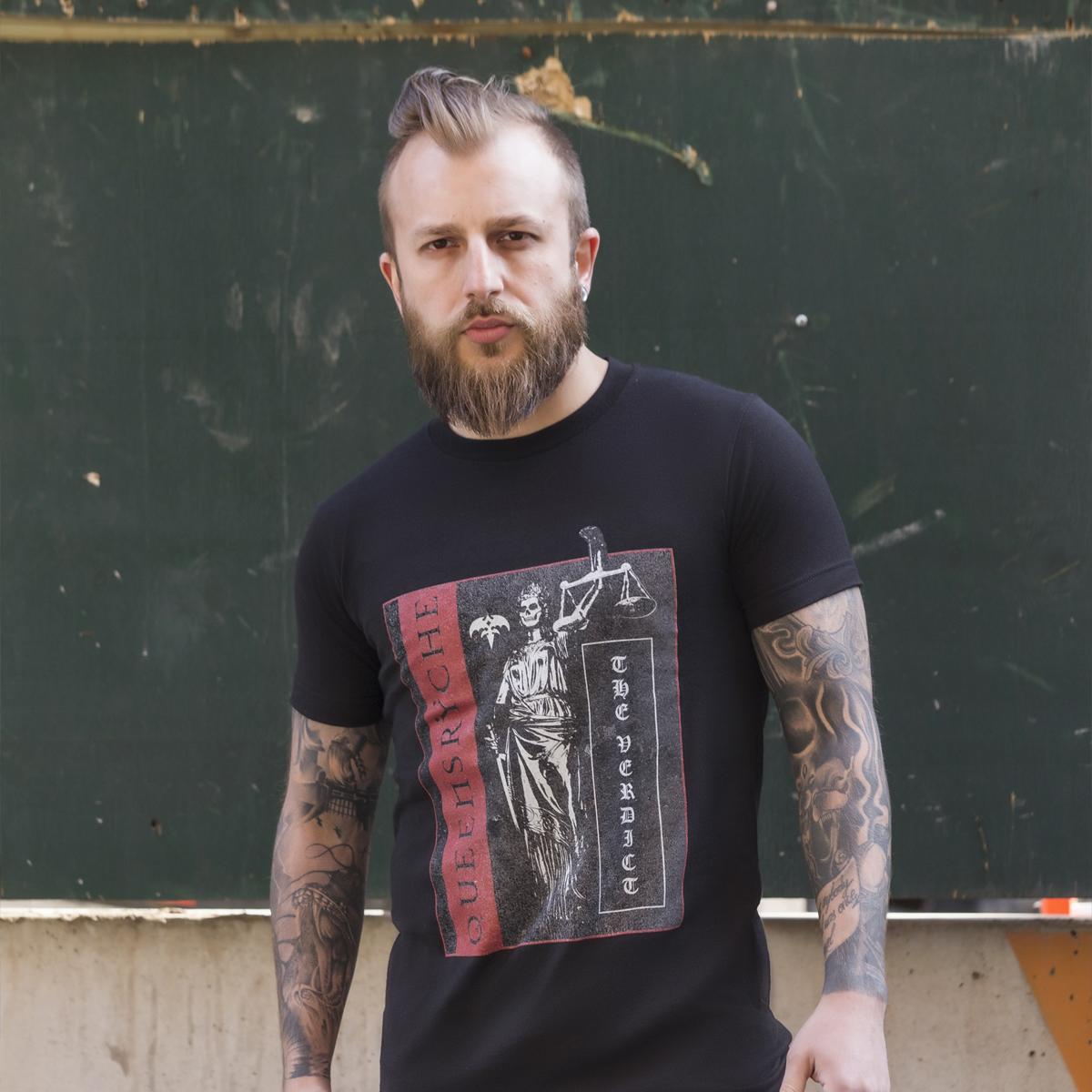 Queensrÿche - The Verdict Limited Edition Digipak + Justice Black T-Shirt