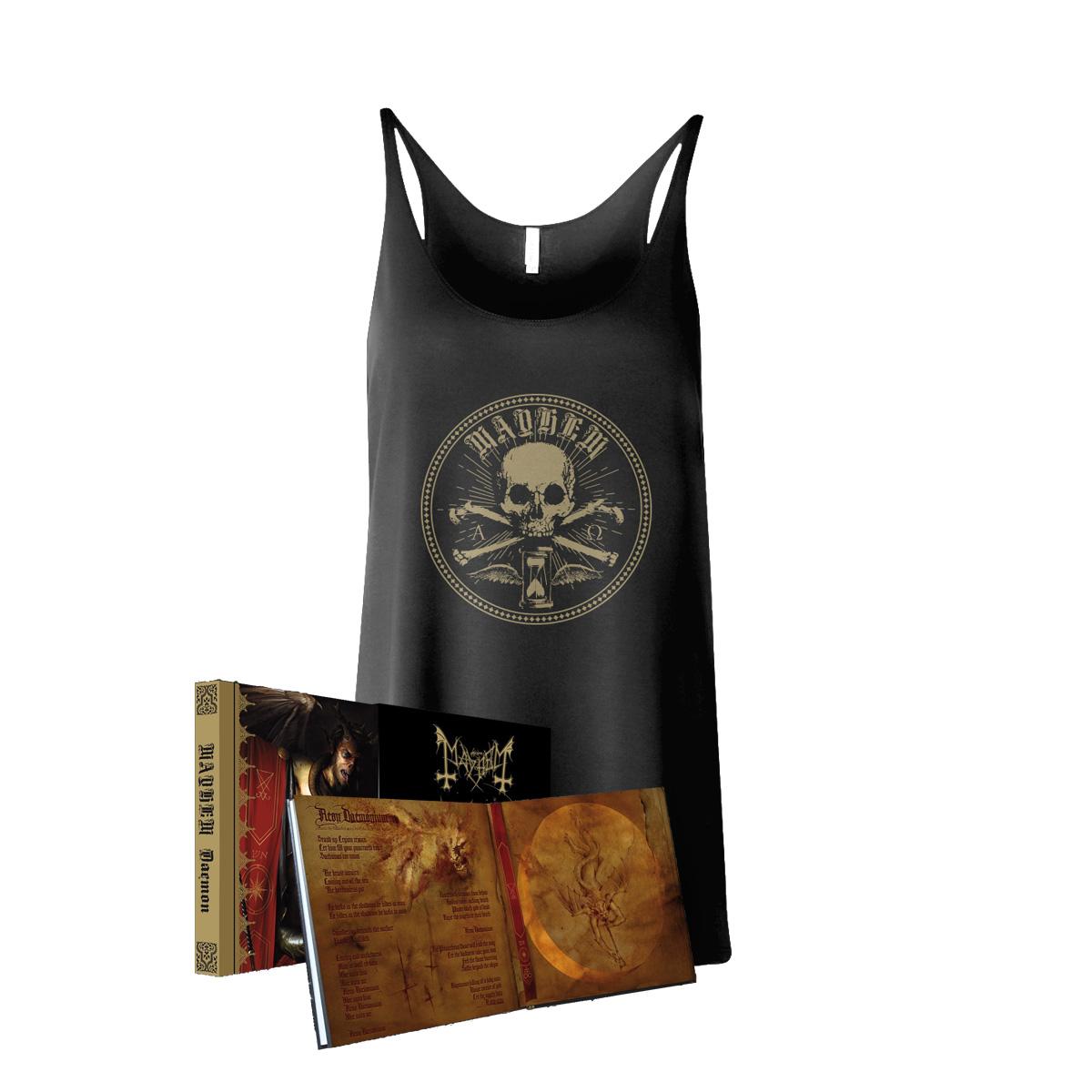 Mayhem - Daemon Mediabook with Slipcase + Sigil Tank Top