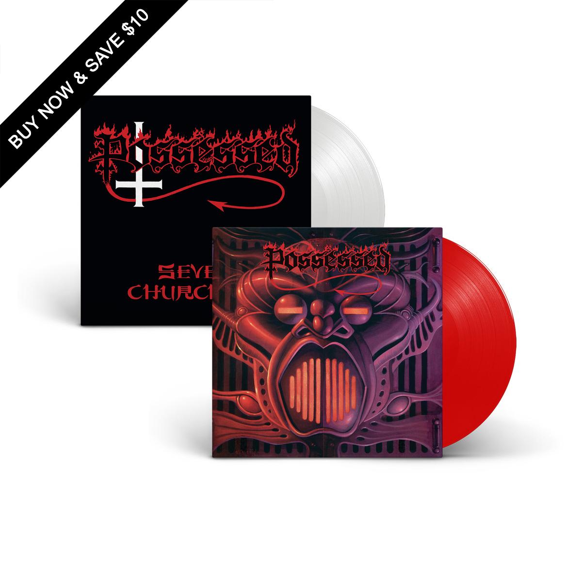 Possessed - Vinyl Re-Issue Bundle