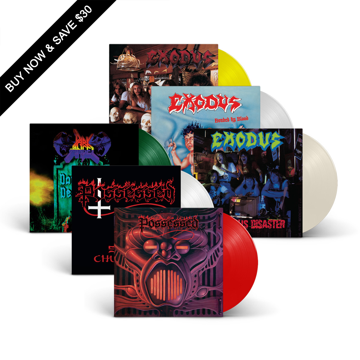 COMBAT - Vinyl Re-Issue Bundle