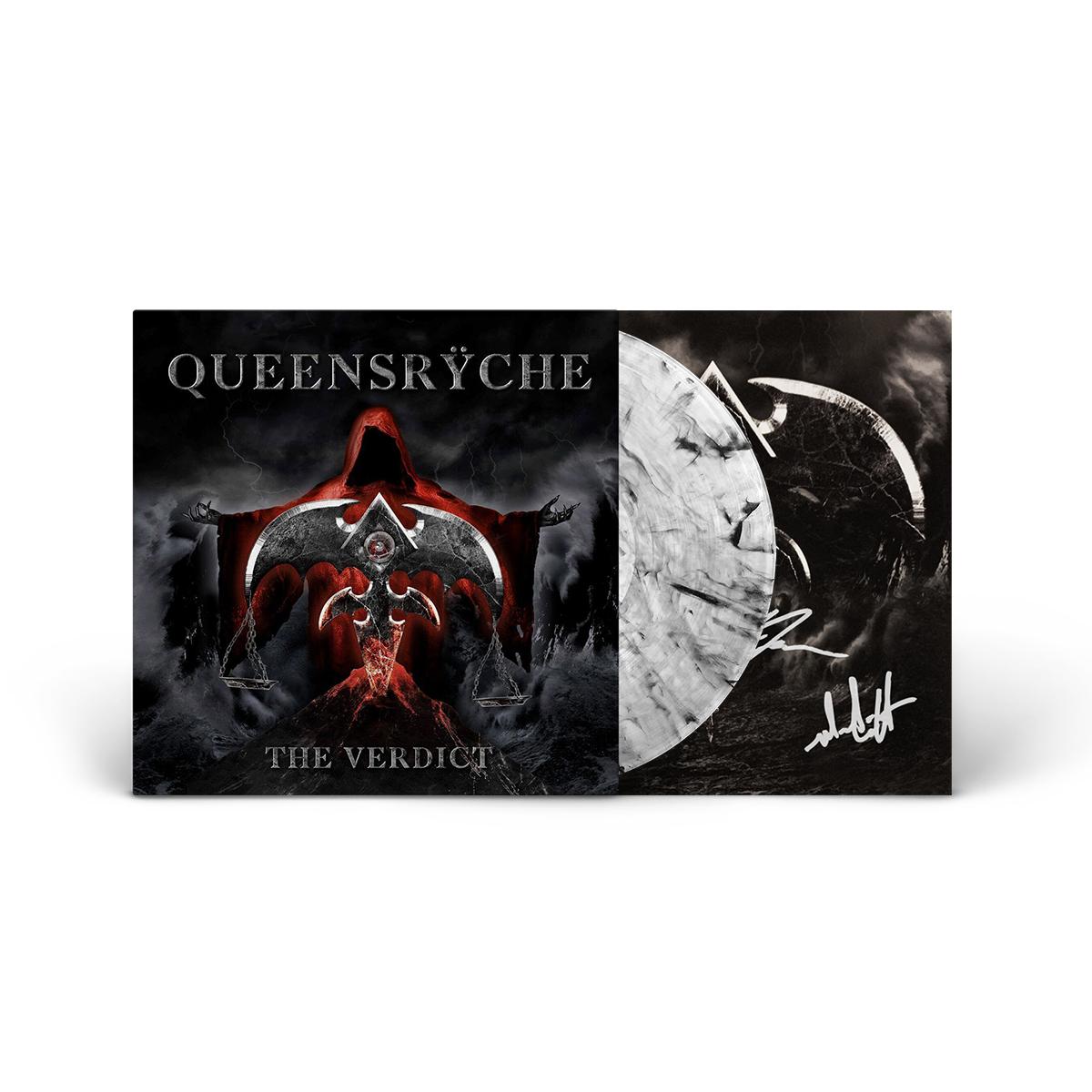 Queensrÿche - The Verdict Autographed Clear Smoke LP