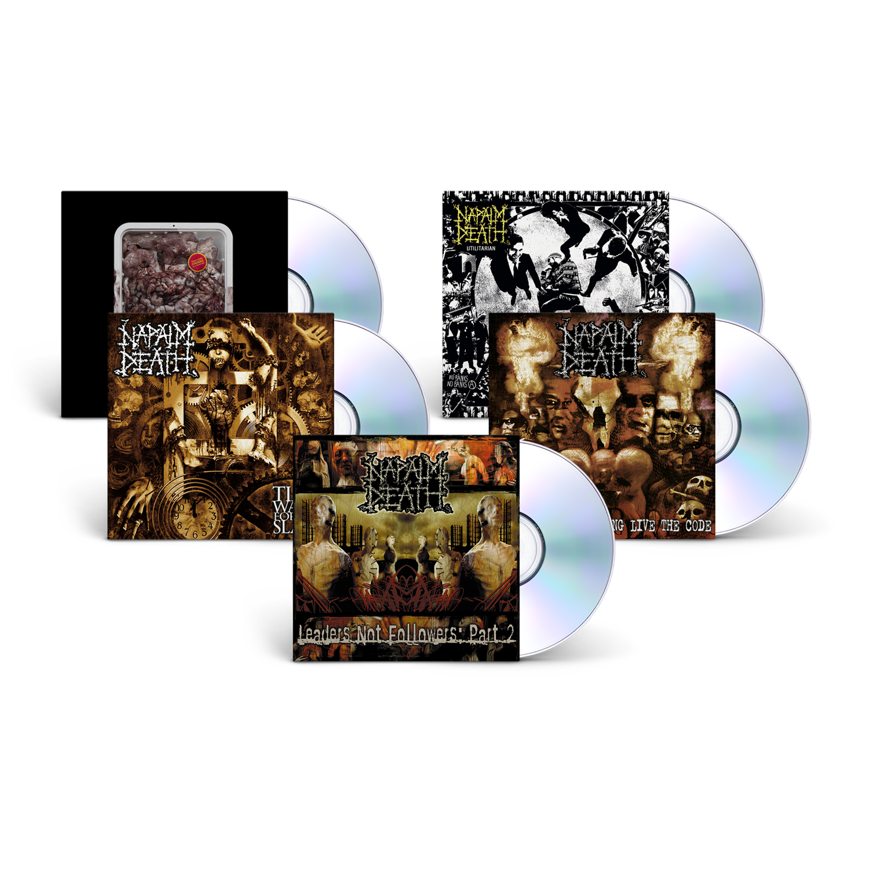Napalm Death CD Bundle