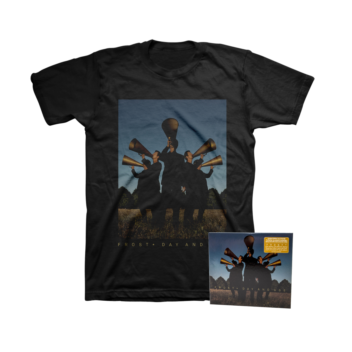 Frost* - Day And Age Digisleeve 2 CD + Black T-Shirt + Digital Download