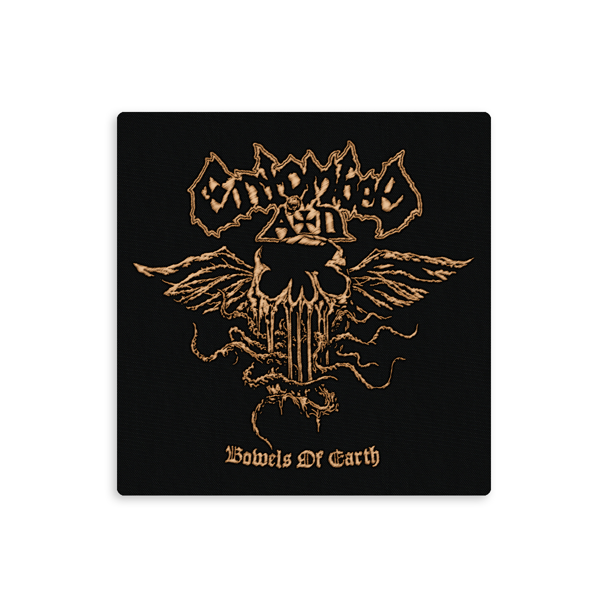 Entombed A.D. - Bowels of Earth Limited Edition CD Jewel Case with Patch + Fit For A King T-Shirt