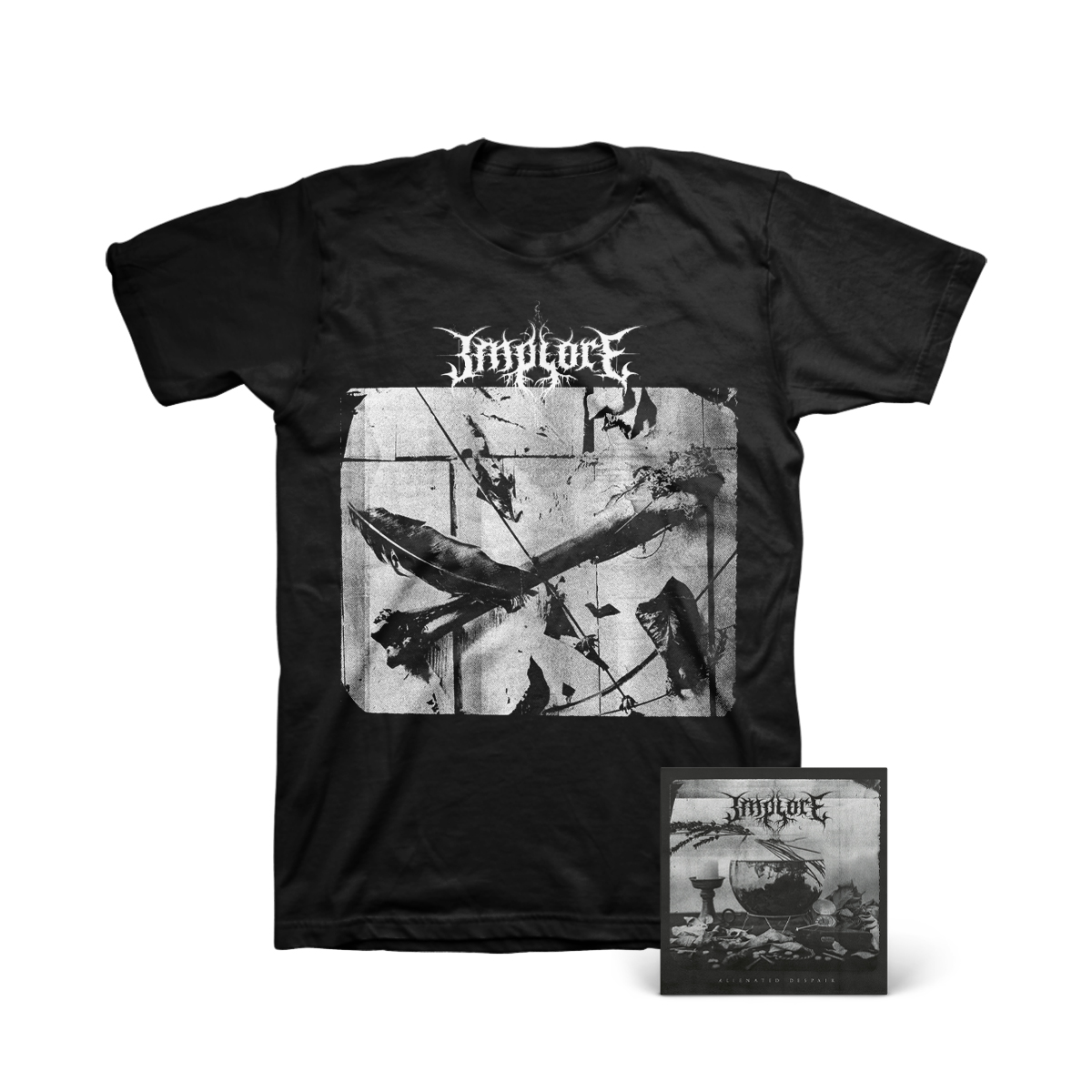 Implore - Alienated Despair Digital Download + Photo T-Shirt