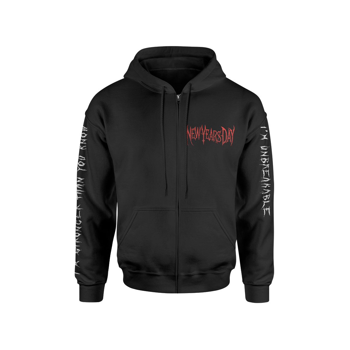 New Years Day - Unbreakable Hoodie