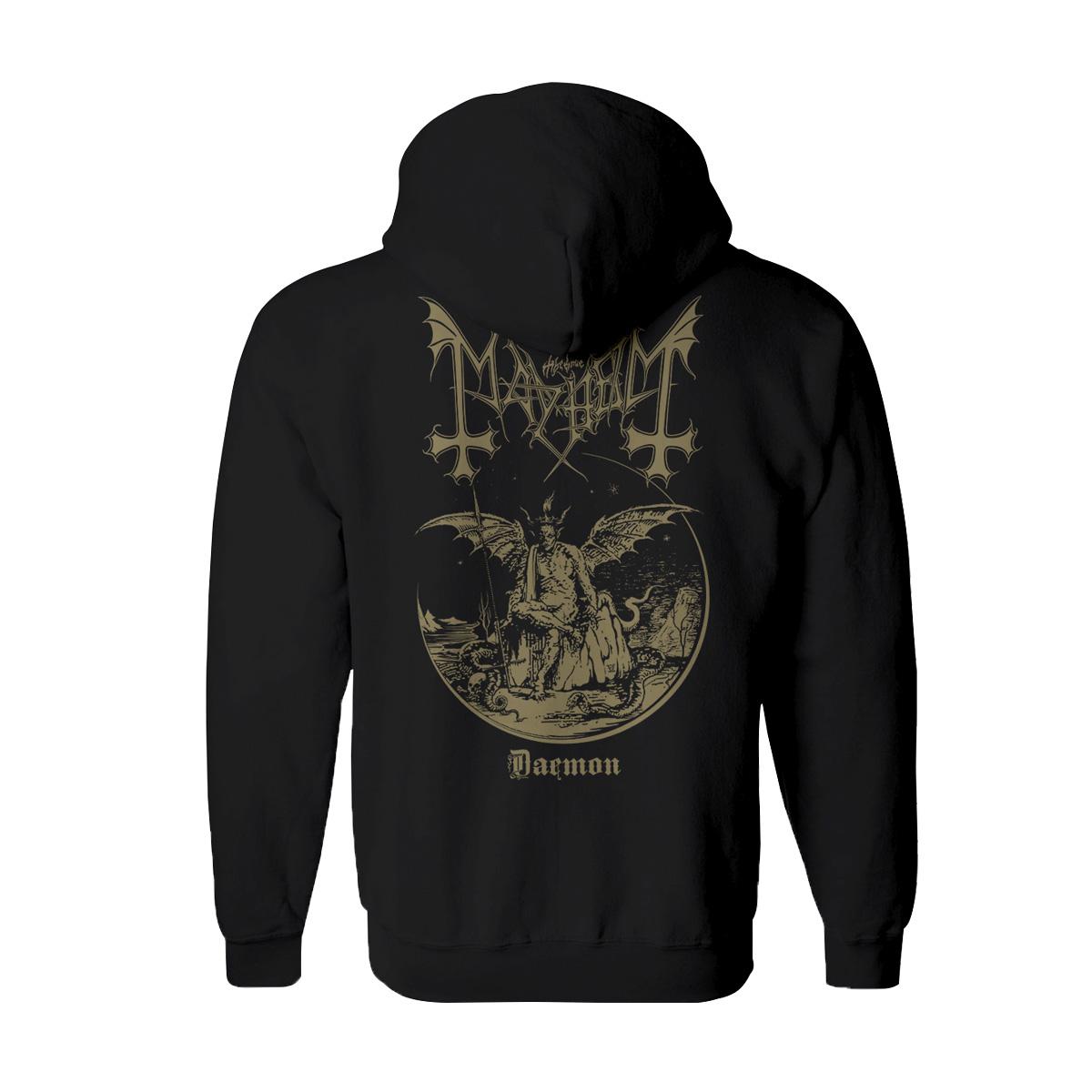 Mayhem - Daemon Zip-Up Hoodie