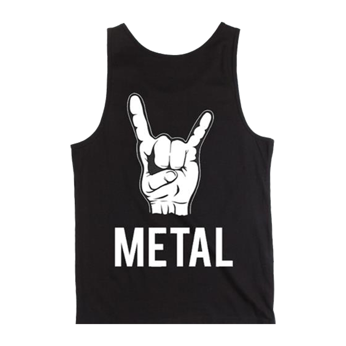 (Horns) Metal - Black Tank Top