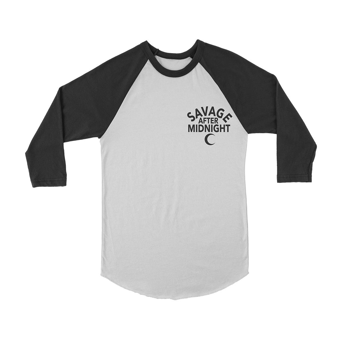 Savage After Midnight - Long Sleeve Raglan T-shirt