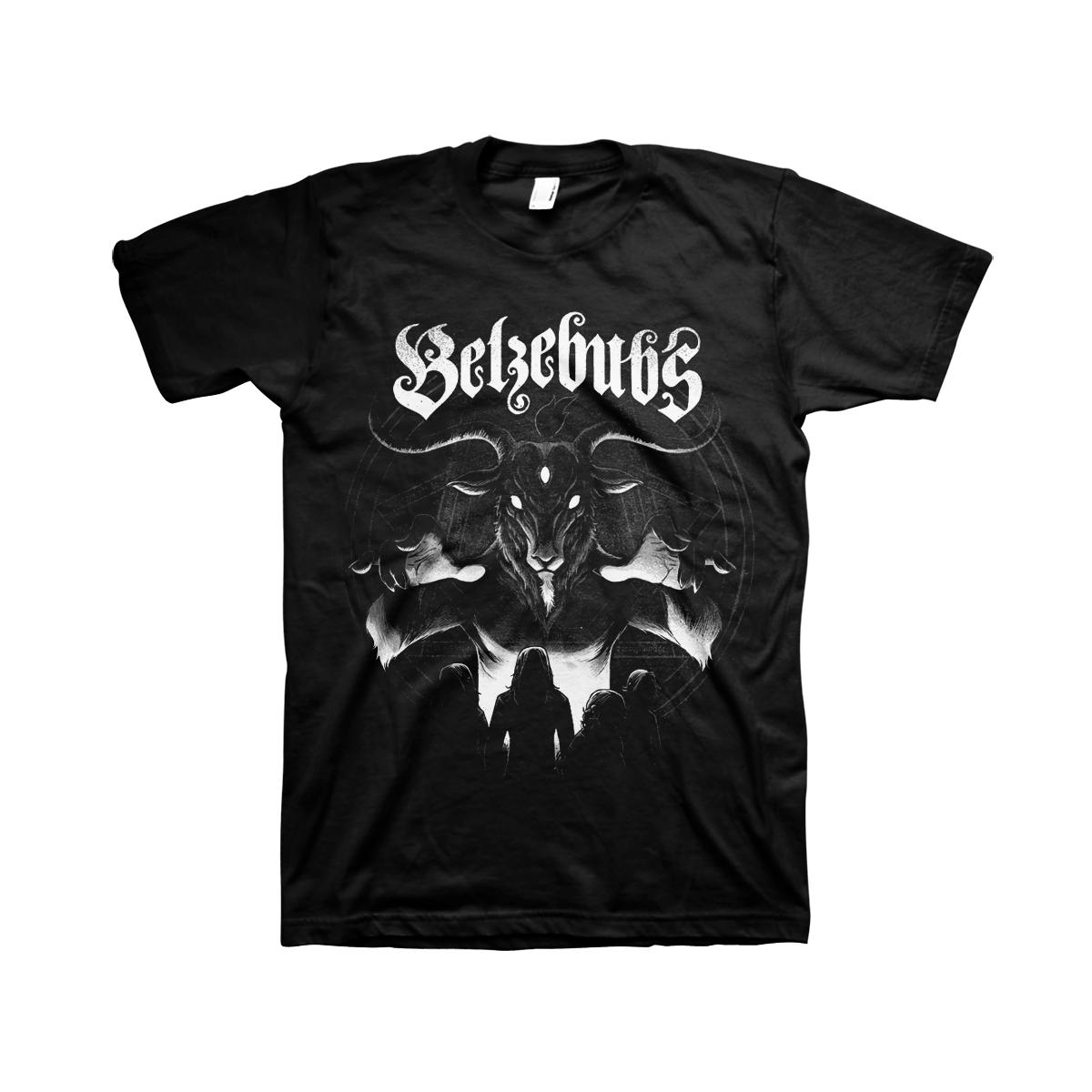 Belzebubs - Goat God Black T-shirt