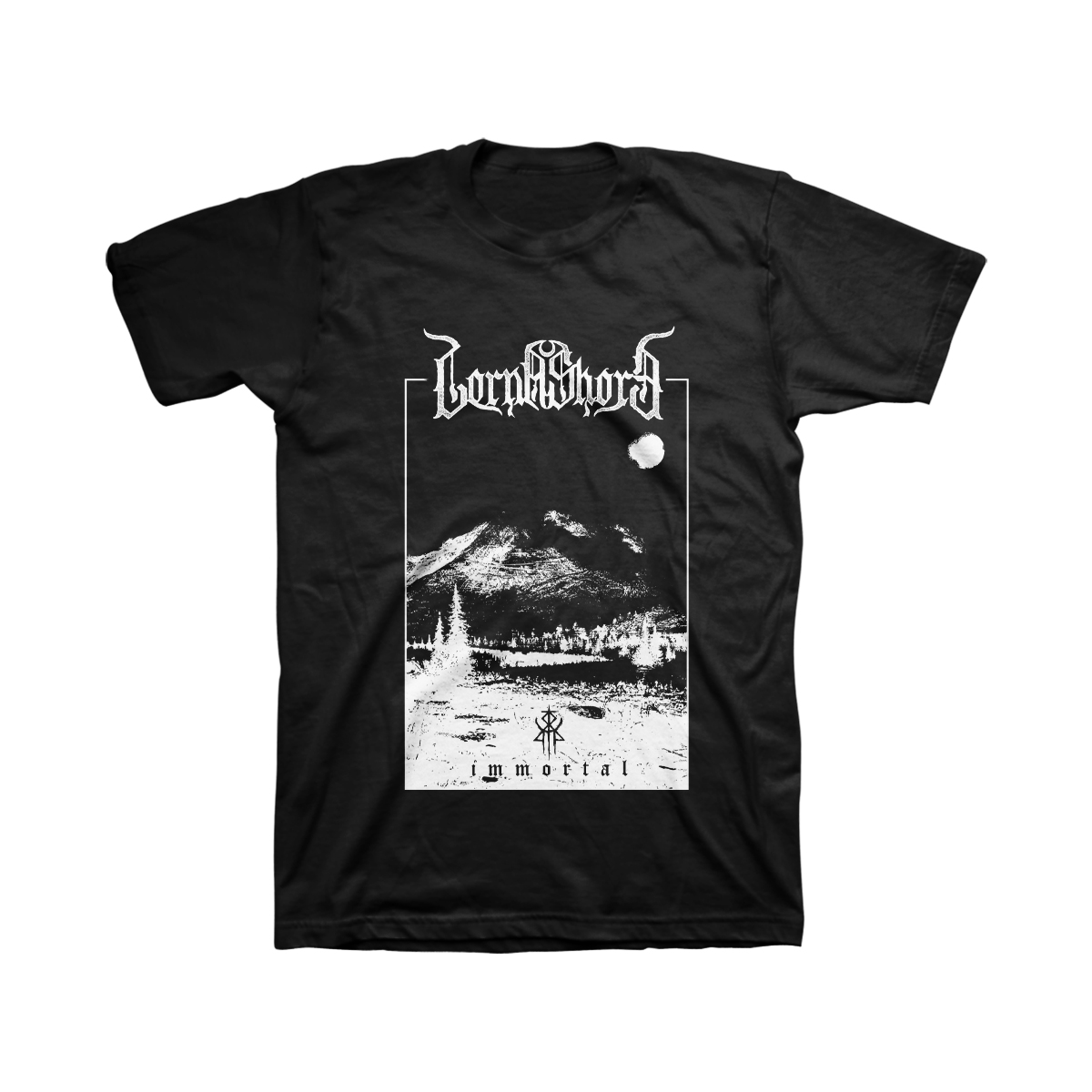 Lorna Shore - Immortal Black Metal - Black T-Shirt