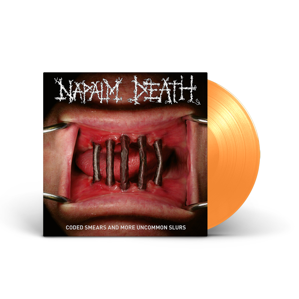 Napalm Death: Coded Smears Uncommon Slurs (OR) LP + Poster