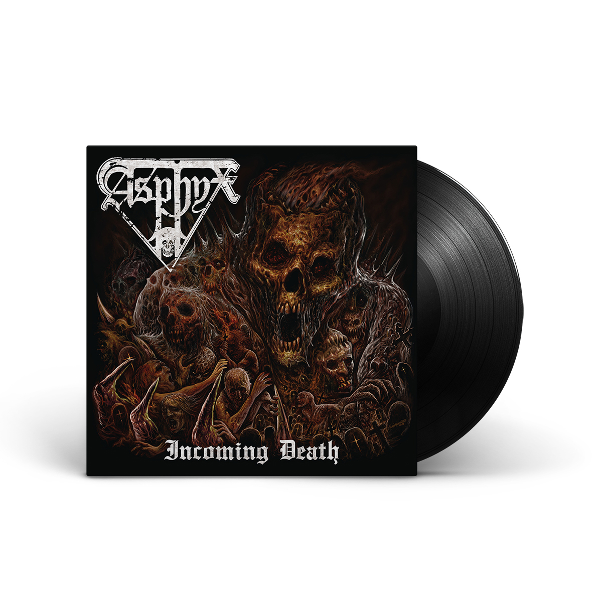 Asphyx - Incoming Death LP+Poster