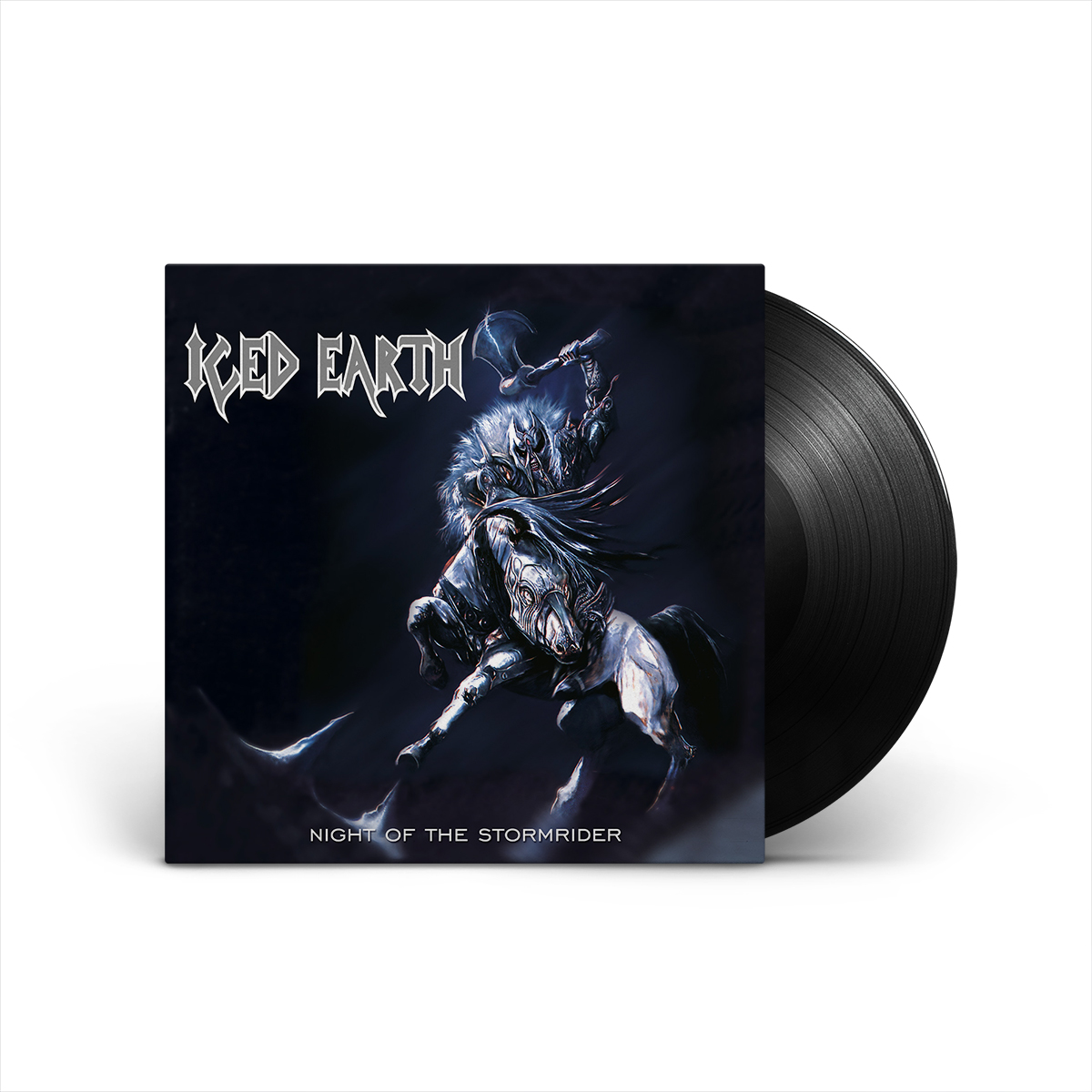 Iced Earth - Night Of The Stormrider (Re-issue) LP + Poster