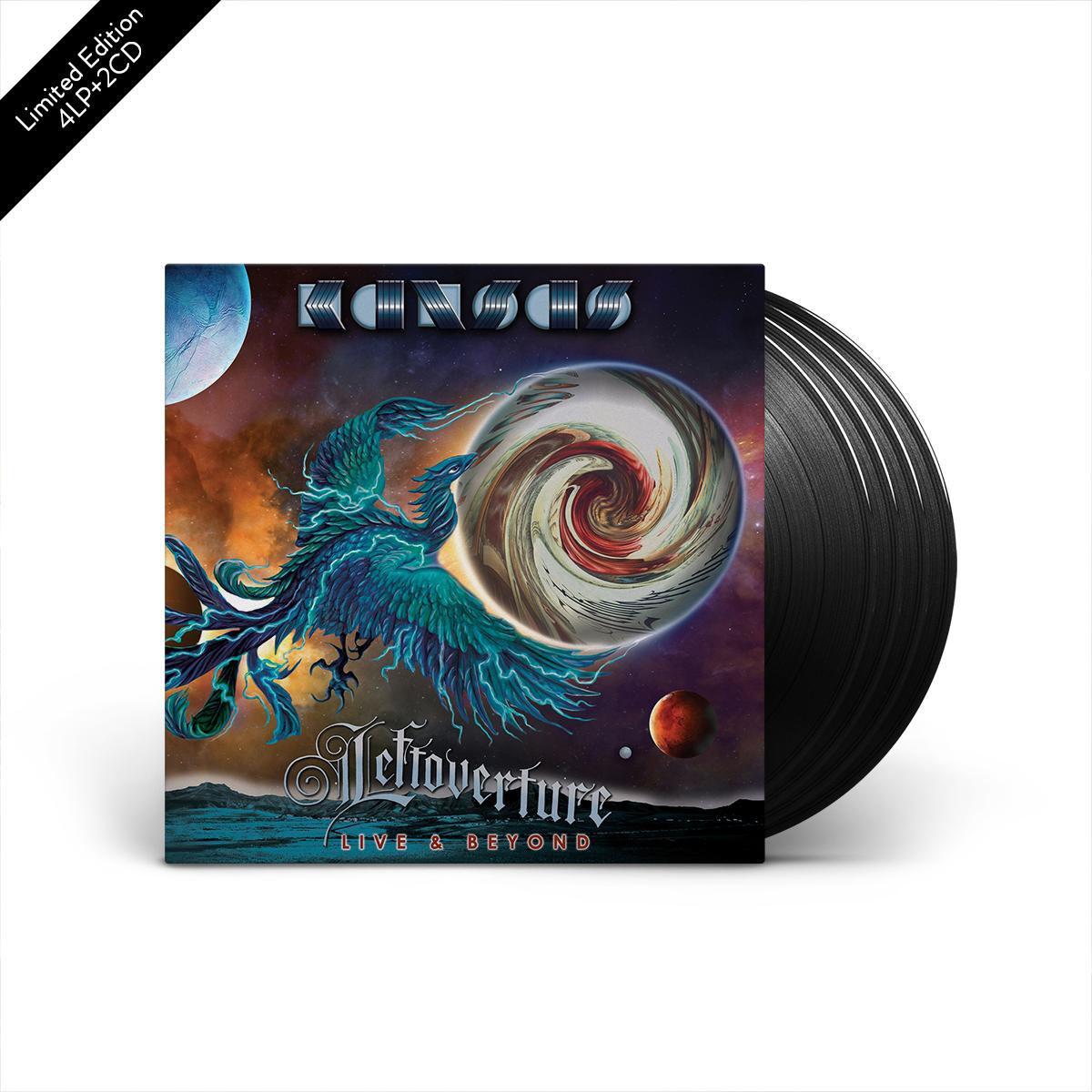 Kansas - Leftoverture Live & Beyond 4 LP + 2 CD Set