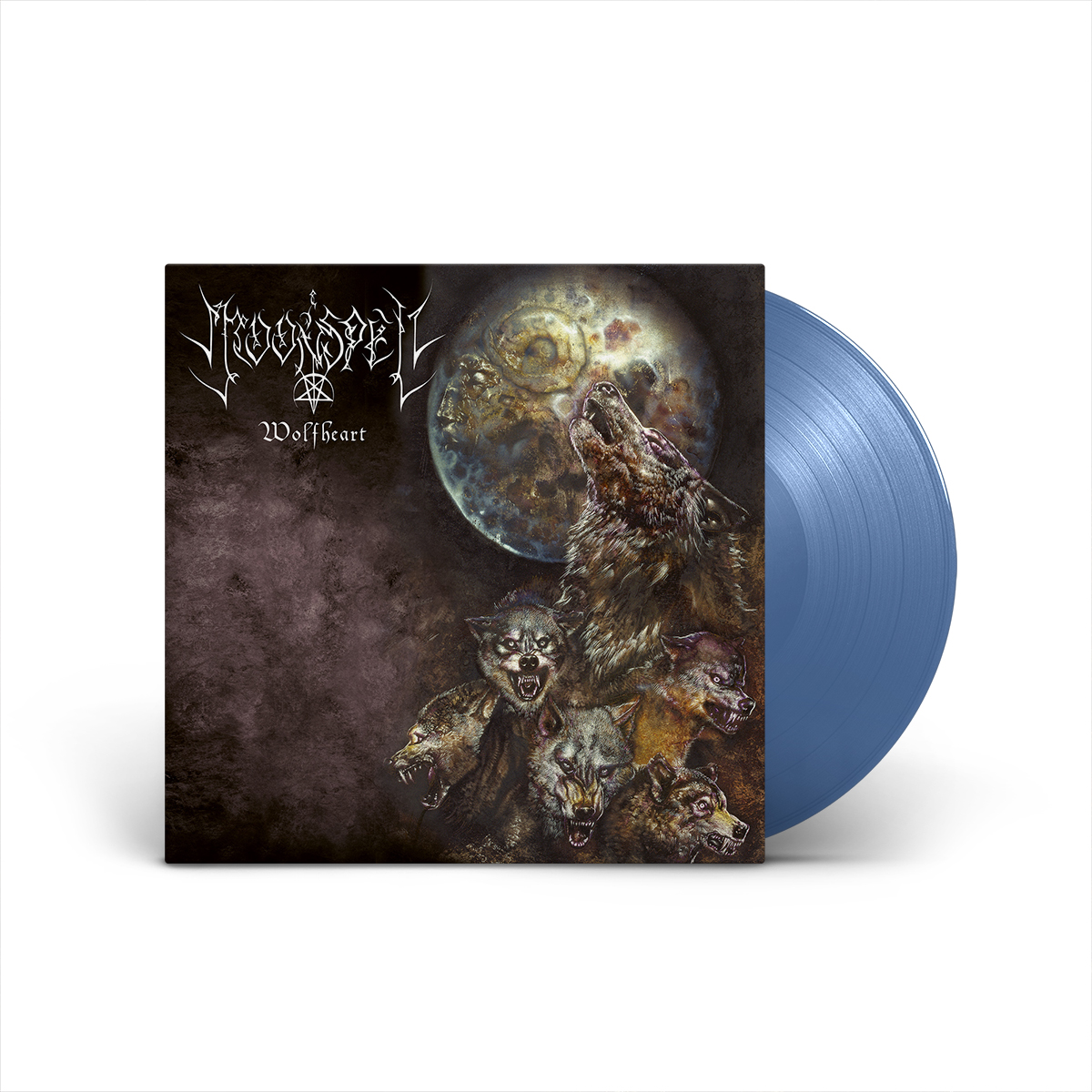 Moonspell - Wolfheart Blue LP