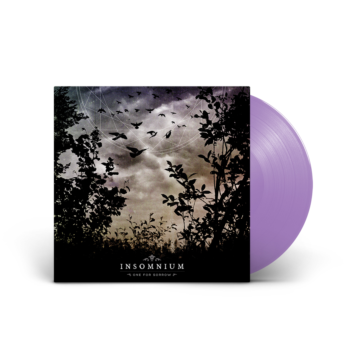 Insomnium - One for Sorrow Etched Lilac LP