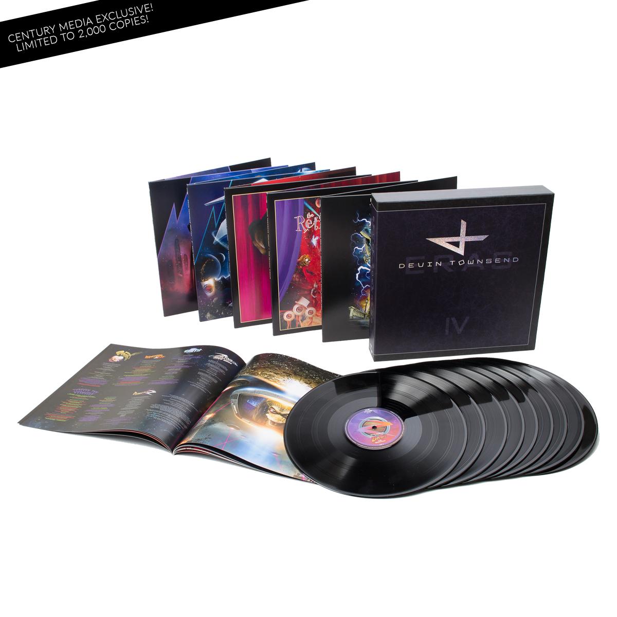 Devin Townsend Project - Eras - Vinyl Collection Part IV 9-LP Limited Edition Deluxe Box Set