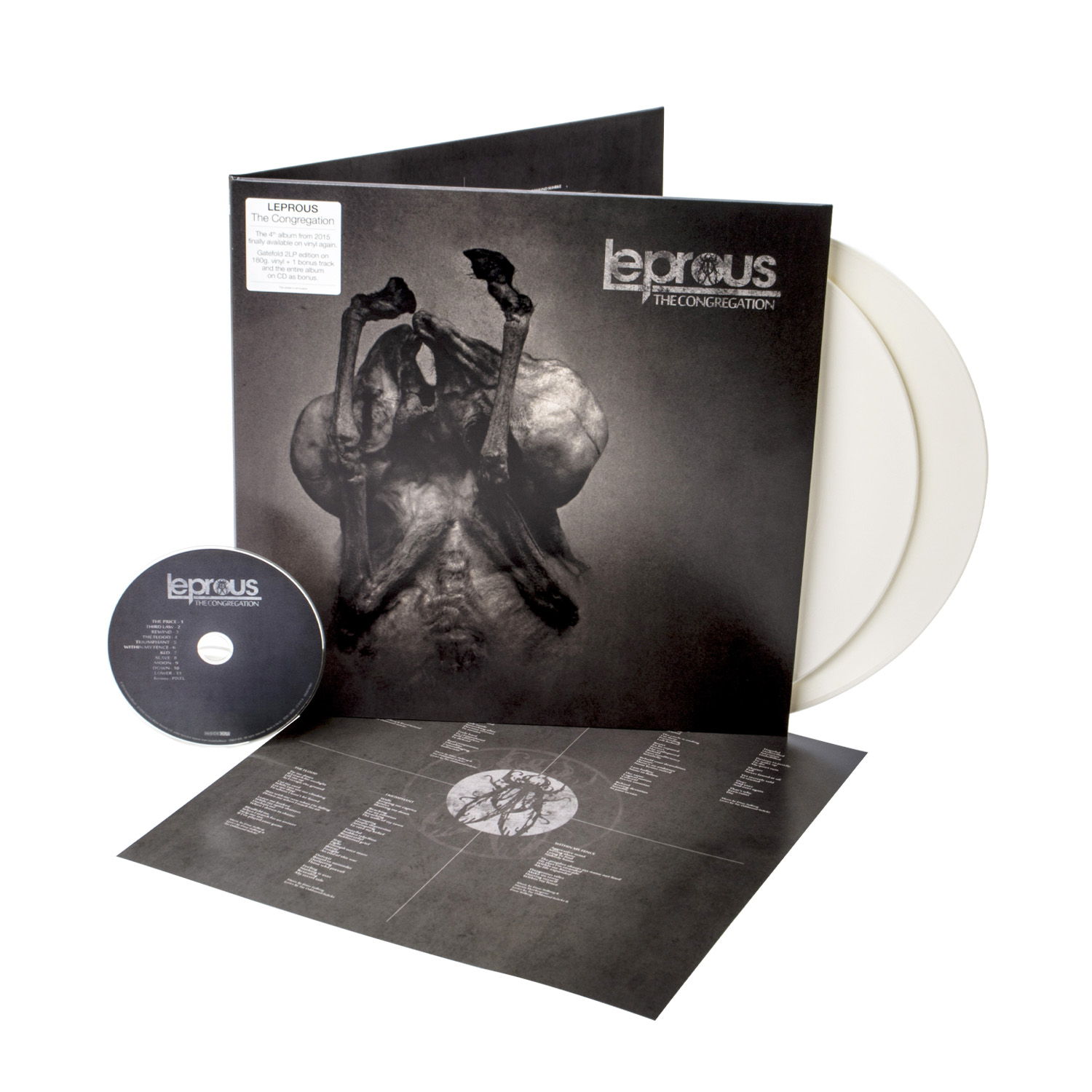 Leprous - The Congregation (Re-issue 2020) White 2LP + CD