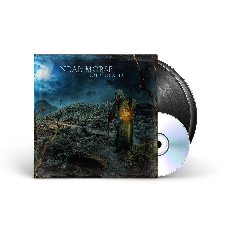 Neal Morse - Sola Gratia Black Vinyl 2LP + CD Gatefold + Digital Download