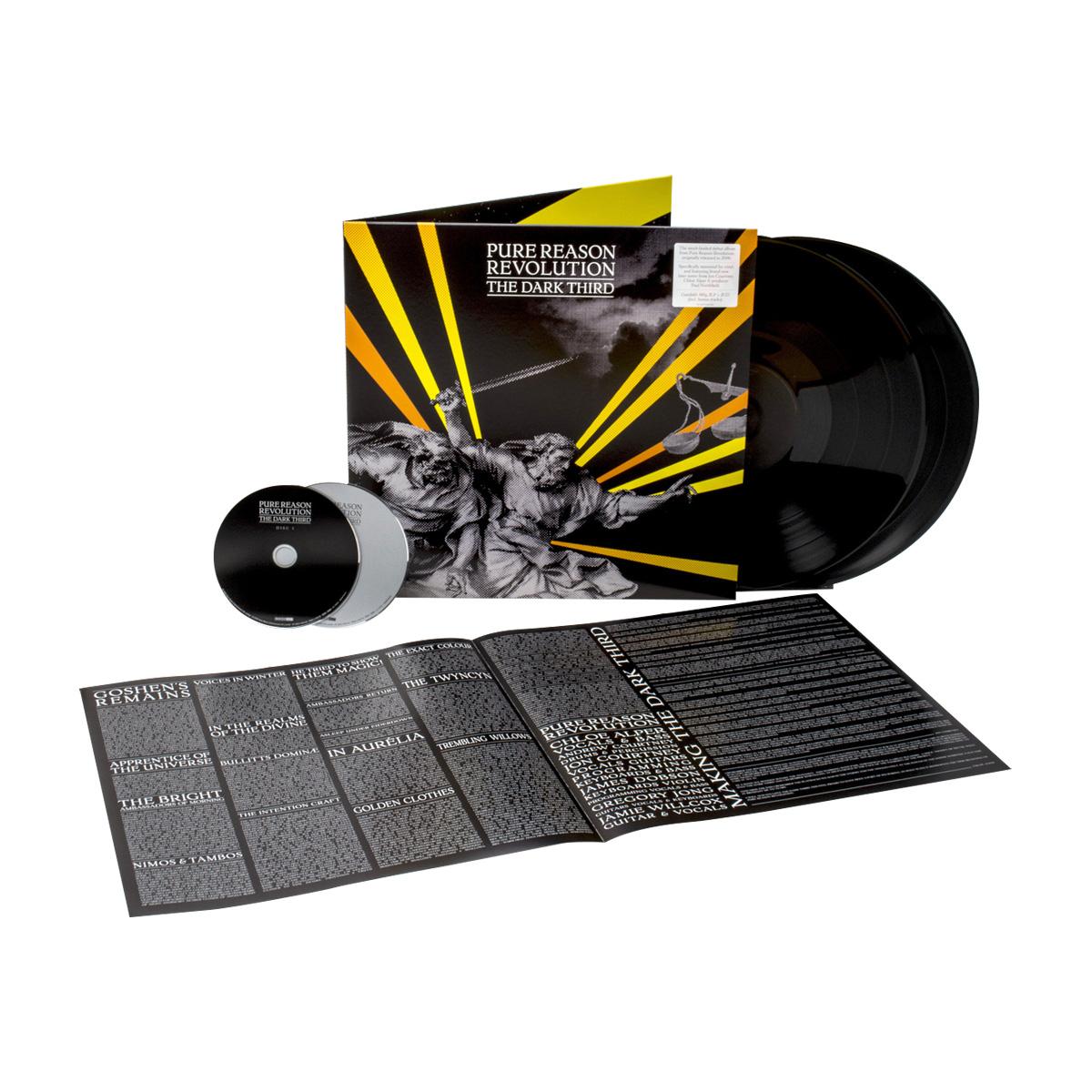Pure Reason Revolution - The Dark Third (2020 Reissue) Black 2 LP + 2 CD