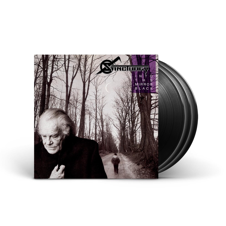 Sanctuary - Into The Mirror Black (30th Anniversary Edition) Black 3 LP & Booklet