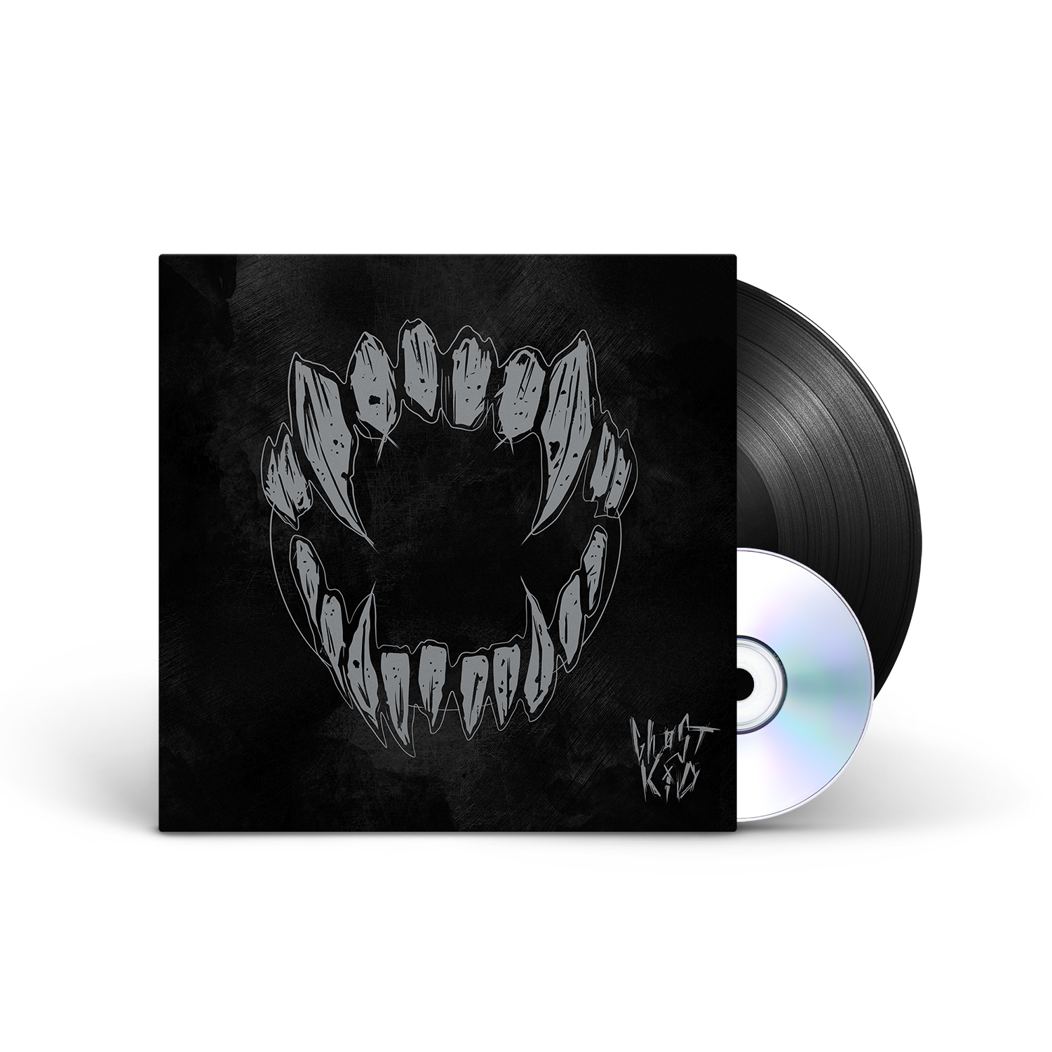 GHØSTKID - GHØSTKID Black Vinyl LP + CD