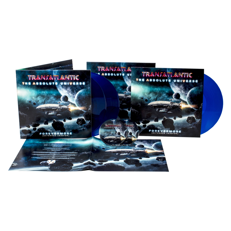 Transatlantic - The Absolute Universe - Forevermore (Extended Version) Transparent Blue Vinyl 3LP + 2CD