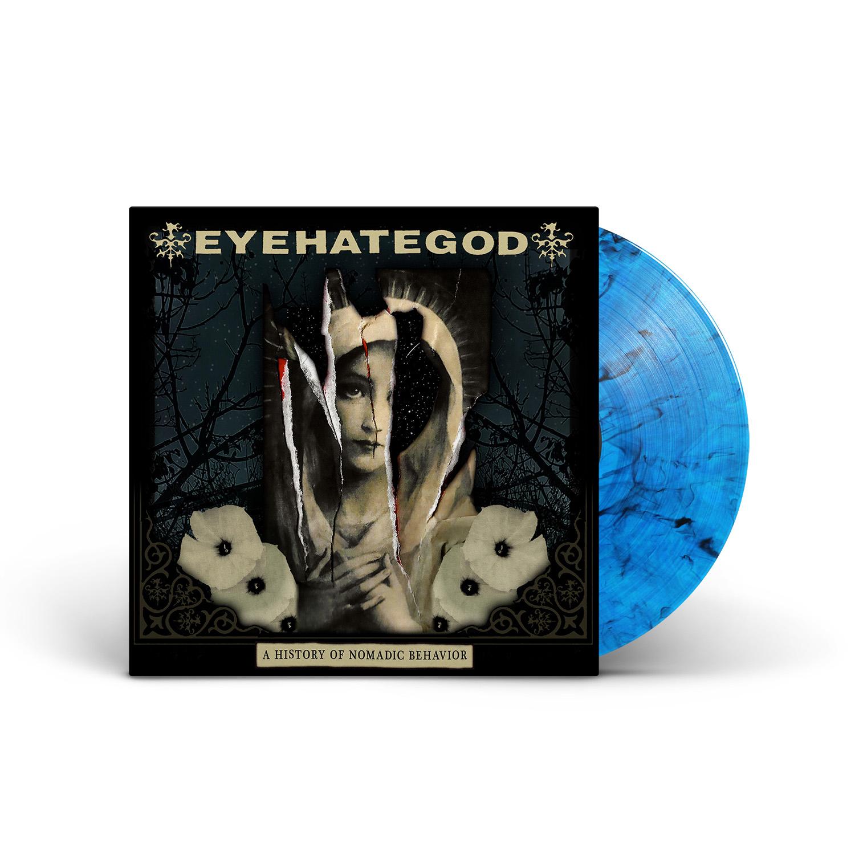EYEHATEGOD - A History of Nomadic Behavior Blue Smoke Vinyl LP