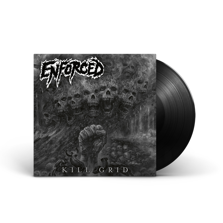 Enforced - Kill Grid Black Vinyl LP + Digital Download
