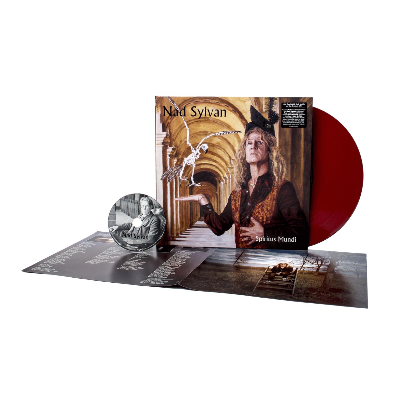 Nad Sylvan - Spiritus Mundi Brick Red Vinyl LP + CD + Digital Download