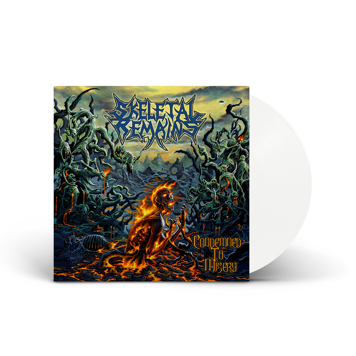 Skeletal Remains - Condemned To Misery (Re-issue 2021) Ultra Clear Vinyl LP