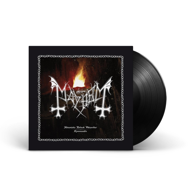 Mayhem - Atavistic Black Disorder / Kommando - EP Black Vinyl LP + Digital Download