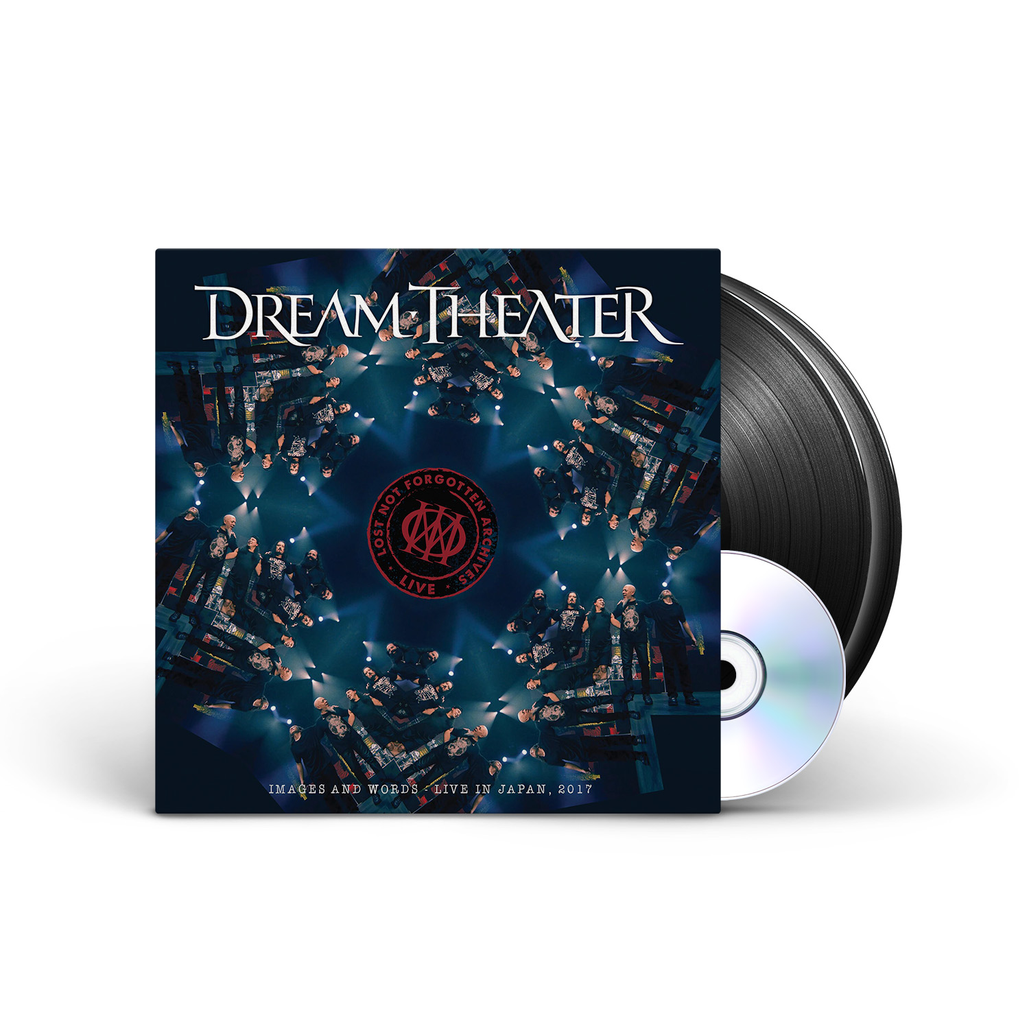 Dream Theater - Lost Not Forgotten Archives: Images and Words - Live in Japan, 2017 Black 2LP + CD + Digital Download