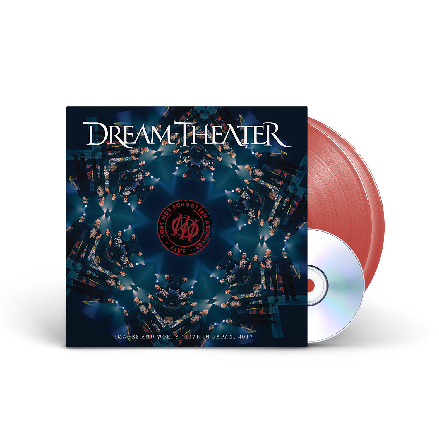 Dream Theater - Lost Not Forgotten Archives: Images and Words - Live in Japan, 2017 Ruby 2LP + CD + Digital Download