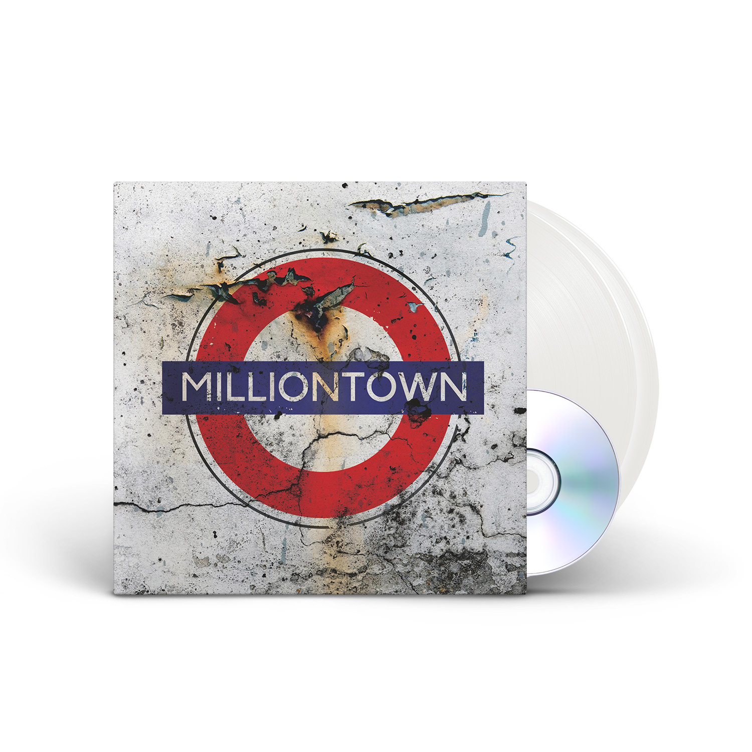 Frost* - Milliontown (Re-issue 2021) White 2LP + CD