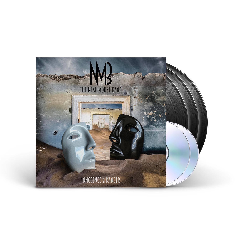 The Neal Morse Band - Innocence & Danger Black 3LP + 2CD + Digital Download
