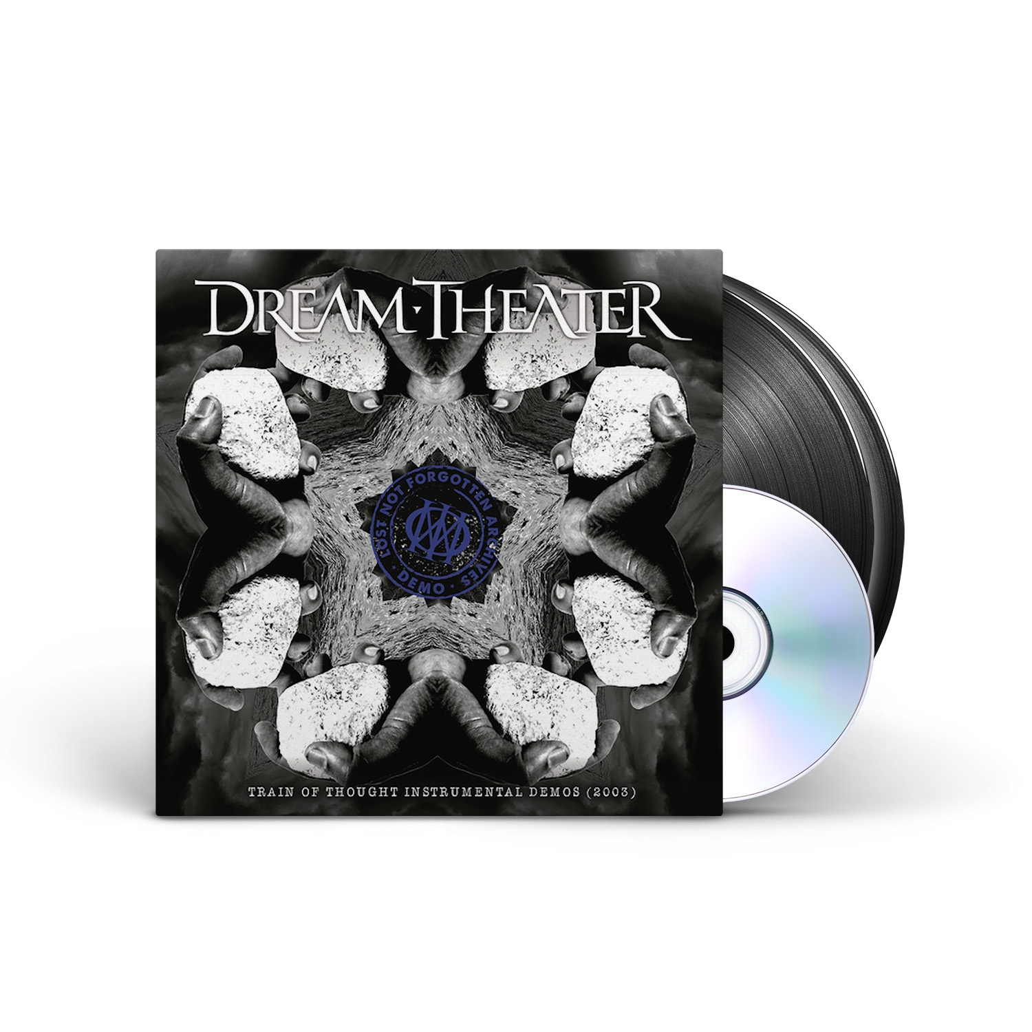 Dream Theater - Lost Not Forgotten Archives: Train of Thought Instrumental Demos (2003) Black 2LP + CD + Digital Download