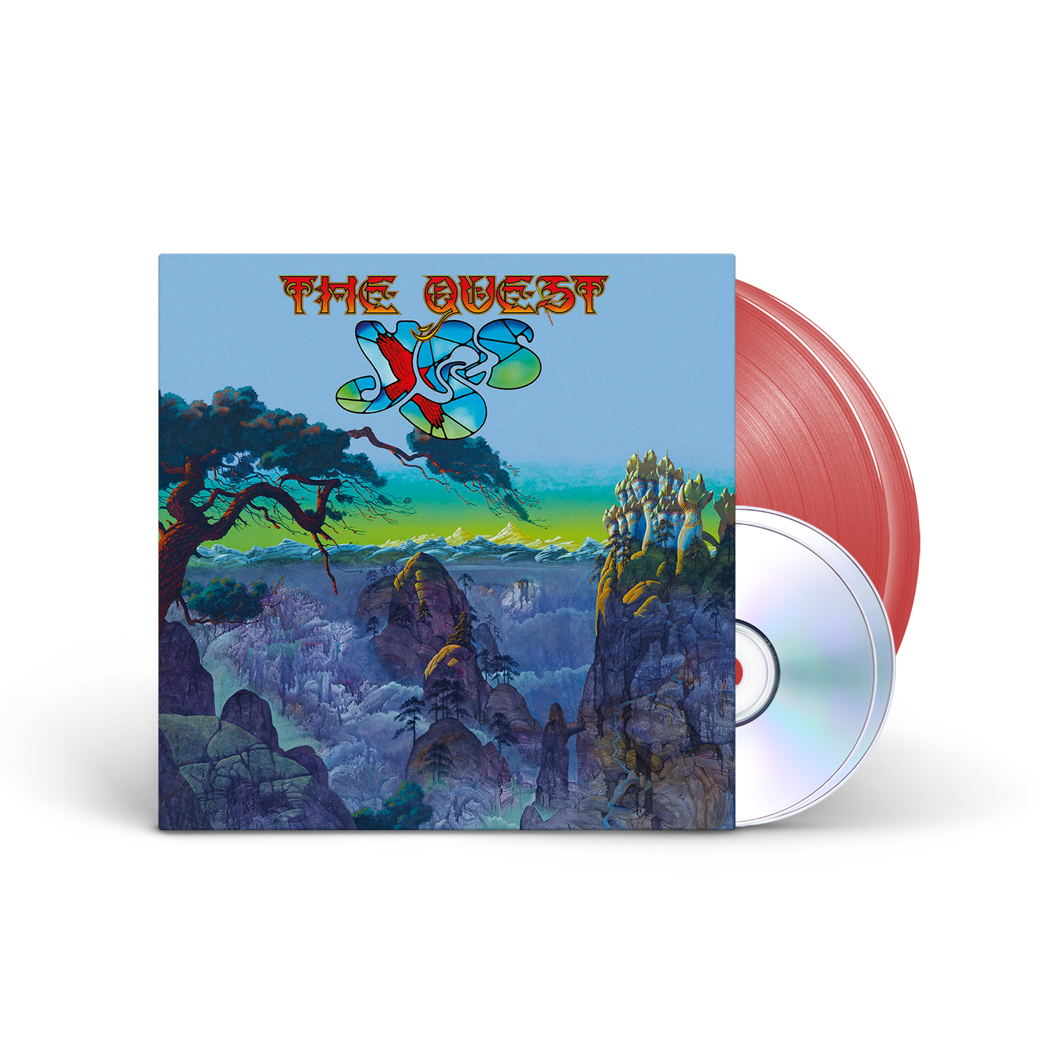 Yes - The Quest Apple Red 2LP + 2CD + Digital Download