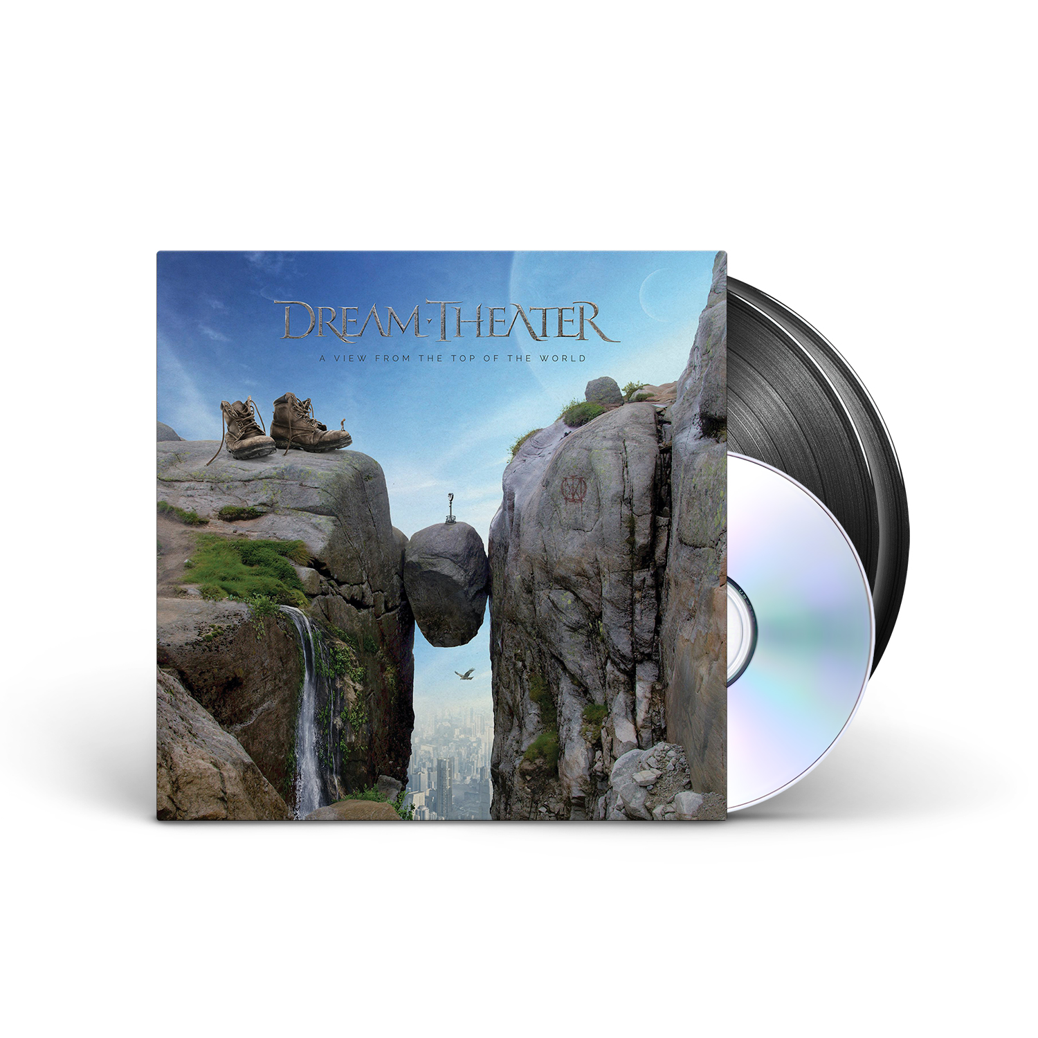 Dream Theater - A View From The Top Of The World Black 2LP + CD + Digital Download