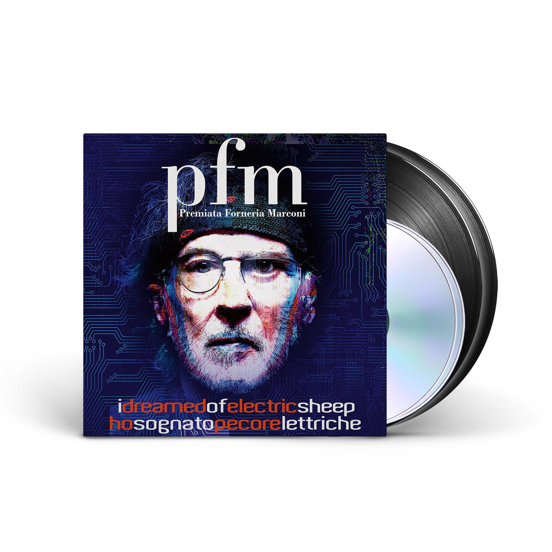 Premiata Forneria Marconi - I Dreamed of Electric Sheep Black 2LP + 2CD + Digital Download