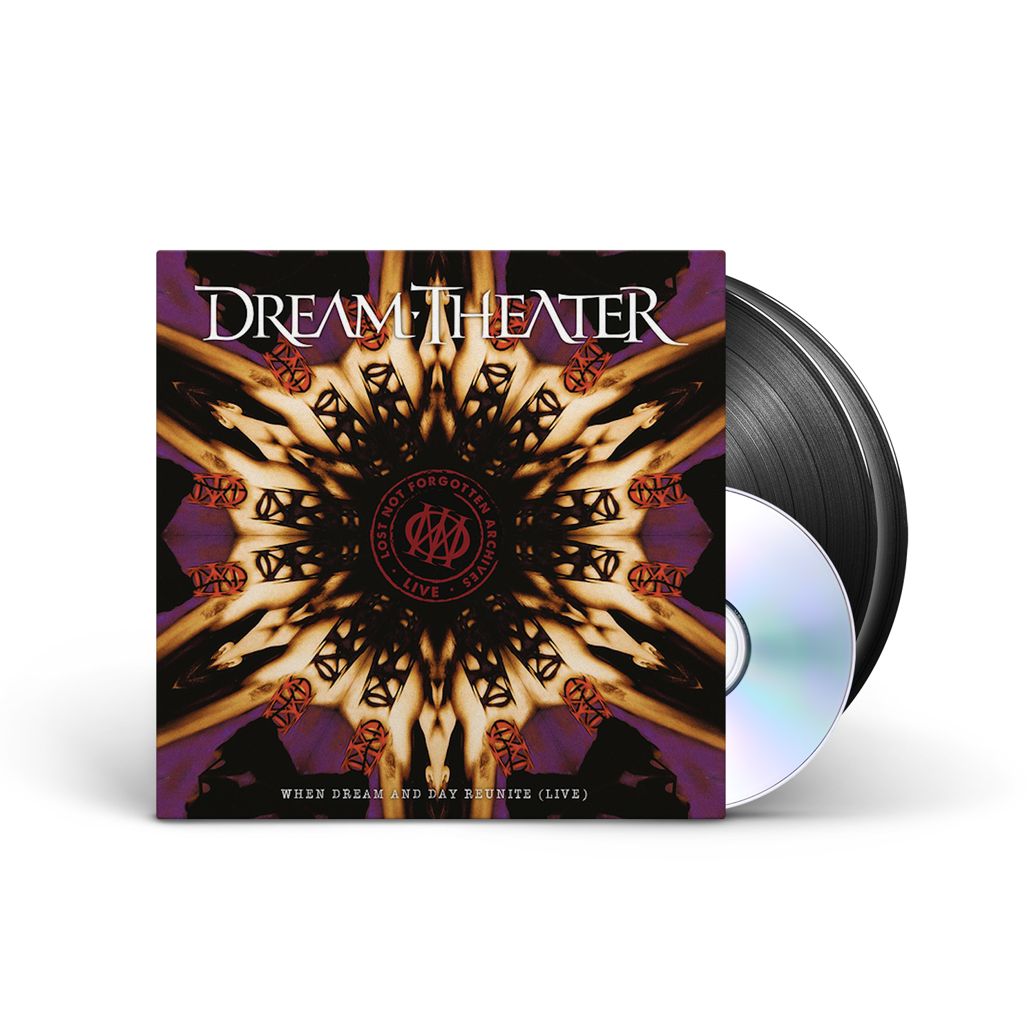 Dream Theater - Lost Not Forgotten Archives: When Dream And Day Reunite (Live) Black 2xLP + CD + Digital Download